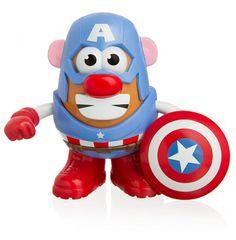#Marvel #CaptainAmerica Potato Head!!