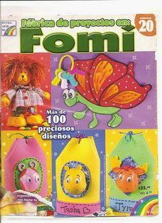 Revistas de Foamy gratis: como hacer manualidades en foami paso a paso