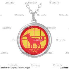 Year of the Dog Silver Plated Necklace #yearofthedog #zodiac #chinesenewyear #2018 #newyear