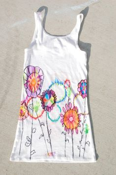 Obsessed With Paper Art: Easy Tie Dye! Alcohol and Sharpies