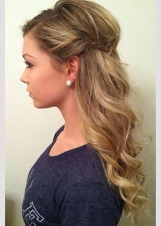 Cute Hairstyles For Something Like A School Dance Or A Formal Dinnercute hair styles for a dance | iTweenFashion.com
