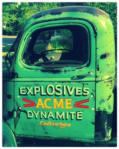 Now, honestly. Would YOU buy dynamite from the Acme Company?
