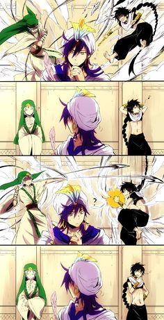 Fanart  Anime : Magi