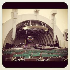 Inside the Hollywood Bowl 01.05.12 #oxfamontour #coldplay #oxfamGROW #GROW