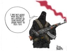Islamist cartoon