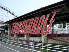 Kennywood Roller Coasters (The Thunderbolt)
