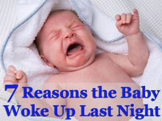 7 common causes of baby wake-ups and how to prevent them