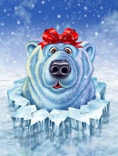 White bear - gift