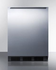Summit FF7BSSHHADA ADA compliant commercial allrefrigerator for freestanding use with black cabinet stainless steel door and horizontal handle * Check out the image by visiting the link. (Note:Amazon affiliate link)