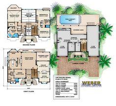 Floor Plan   agl   Pinterest   Mediterranean house plans ...