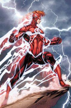 The Flash (Wally West) - Brett Booth