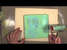 Part 2 of a Great Begiiner Gelli Printing Tutorial! Mono-Printing For The First Time - Gelli Arts®, Part 2 - YouTube