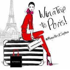 Paris is always a good idea! I'm excited to announce that I have teamed up with SEPHORA for their 'Bonjour Beauty' campaign. Even more exciting is that SEPHORA and AIR FRANCE are going to give one lucky winner a TRIP TO PARIS!!! What could be better than that! Head to @sephoraaus for all the competition details. #MeganHessXSephora