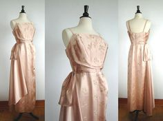 1950s Vintage Evening Gown // OPERA // 50s by FancyLuckyVintage, $125.00