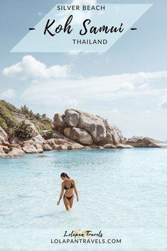 Best Beach In Koh Samui - Silver Beach Koh Samui (Crystal Bay) Koh Phangan, Ko Samui, Koh Samui Thailand, Phuket, Bangkok, Great Places, Places To Go, Bad Sunburn, Paradise Places