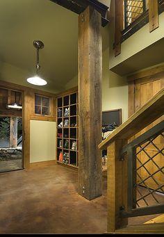 Mountain Modern Home, Big Springs, Northstar - Ski Locker Room - by THID - Lake Tahoe Interior Design - www.thid.net