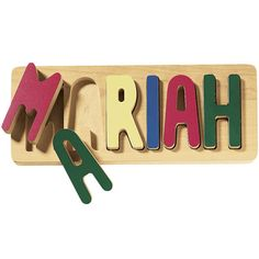 Personalized Name Puzzle - Educational Toys, Specialty Toys and Games - Creative, Award Winning for Science, Math and More | Young Explorers...