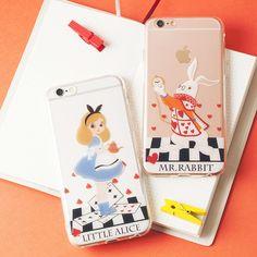Little Alice/Mr.Rabbit Phone Case SP166215