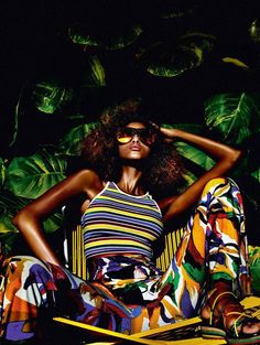 Top model Imaan Hammam serves pure sexiness in the May 2016 issue of Vogue Paris. Captured by Mario Testino, the Dutch model brings the heat in some of the hottest spring fashions. From Tommy Hilfiger to Versace to Roberto Cavalli, Imaan wears vibrant designs styled by editor-in-chief Emmanuelle Alt. Lounging poolside or against a tropical …