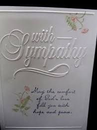 darice with sympathy embossing folder card ideas Birthday Messages, Birthday Cards, Happy Birthday, Sympathy Messages, Sympathy Verses, With Sympathy Cards, Embossed Cards, Get Well Cards, Scrapbook Cards