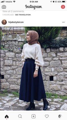 إليكِ - ILAYKI- حجاب ملابس بنات محجبات hijab hijab fashion hijabers hijab style gamis hijab muslimah fashion hijab syari hijab cheap gamissyari khimar ootd islam like muslim gamismurah veil dress hijabi hijab instant hijabootd hijab Modest Fashion Hijab, Modern Hijab Fashion, Hijab Fashion Inspiration, Islamic Fashion, Hijab Chic, Muslim Fashion, Mode Inspiration, Look Fashion, Fashion Muslimah