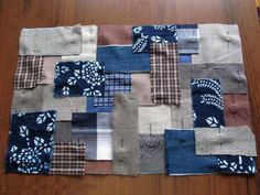 Japanese Boro Bag Tutorial. Сумка в стиле «Боро».