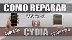 Como reparar erros do Cydia no iOS 7.0.6