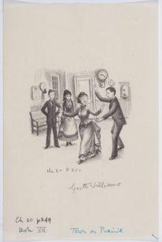 Garth Williams Little House Illustrations   Mainstream Illustration, GARTH WILLIAMS (American, 1912-1996). Little ...