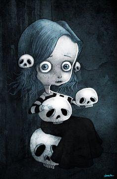 * Skull Collector  by *berkozturk *