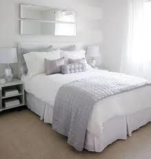 Love Of Interiors Grey And White Bedroom. Modern Grey Bedroom Design Ideas Photos Pictures Images Of Home. Bedroom Paint Colors, Gray Bedroom, Trendy Bedroom, White Bedrooms, Gray Bedding, Light Bedroom, Master Bedrooms, Modern Bedroom, White And Silver Bedroom