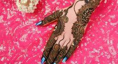 Beautiful And Stylish Eid Mehndi Designs On Chand Raat