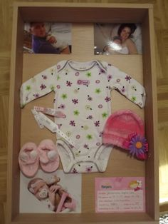 Baby Shadow Box! I so wanna do this, even though my kids aren't babies anymore!!