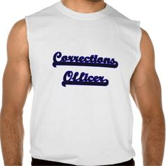 Corrections Officer Classic Job Design Sleeveless T Shirt, Hoodie Sweatshirt