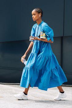 Street style : les looks de la Fashion Week de Milan printemps-été 2020 - Page 9 Milan Street Style, Street Style Outfits, Looks Street Style, Model Street Style, Cool Street Fashion, Street Chic, Paris Street Style Summer, Street Style Trends, Street Look