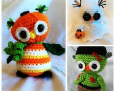 PLEASE NOTE YOU ARE NOT PURCHASING A FINISHED ITEM!!!!!!!!!!  NO REFUNDS WILL BE ISSUED ONCE THE PATTERN HAS BEEN SENT  Say Happy Halloween to the 1st in my line up of Pumpkin Patch Owls!! The Scrappy Owls have gone Halloween! Ready for fun and a great project for the fall season!! Pumpkin Owl is a cousin to Scrappy owl but with a few twists for Halloween fun. Pumpkin is great to make for yourself or as a gift! Keep your eyes open for my next Pumpkin patch owl coming soon!!  This pattern…