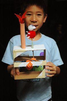 Cardboard Automata | The Tinkering Studio + PDF to make your own!