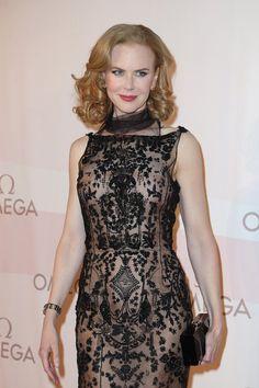 Nicole Kidman Omega Ladymatic: la nuova collezione e la campagna pubblicitaria, il party a Vienna #omega #ladymatic #party #vienna #fashion