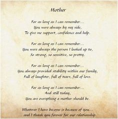 Mothers Day In Heaven Poem | PERSONALIZED MOTHER'S DAY POEM REVIEW + GIVEAWAY - Frugal Fabulous ...