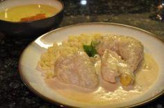cream chicken