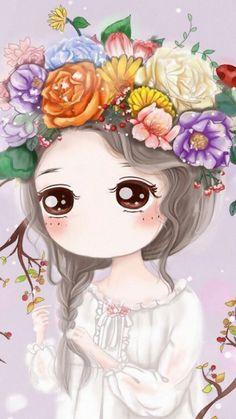 รูปภาพ art, art girl, and little princess