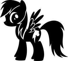 my little pony stencil - Google Search