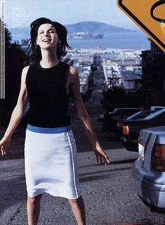 Elle (US) April 2003 -Photographer: Ben Watts Giorgio Armani Beauty, Elle Us, Sam And Cait, Vanity Fair Oscar Party, Caitriona Balfe, Celebs, Celebrities, Kendall Jenner, Celebrity