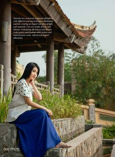 The peaceful and secluded Emeralda Resort Ninh Binh on Heritage Fashion magazine's Fashion Collection pages, with Miss Vietnam 2014's first runner-up Huyen My as the model. See how the gorgeous five star resort and its adjacent Van Long natural reserve is the shooting location that every photographer should be looking for.