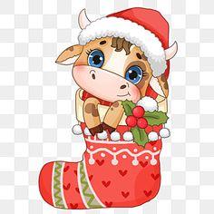 sock,christmas,christmas stocking,hat,winter,festival,animal,cattle,lovely