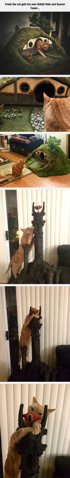 This is genius....also, Sauron Tower? don't you just mean Barad Dur?