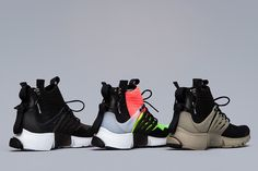 16c00503d37696 The ACRONYM Nike Presto Mid Collection dropped in Berlin this past Thursday  but we re