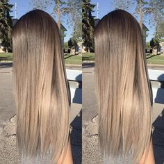 Outdoor lighting on an ash tone ☀️#ombrestudio  #ombre #balayage #hair #hairposts #angelofcolor #hotonbeauty #modernsalon #behindthechair #hairunited #stylistshopconnect #paulmitchel #cosmoprofbeauty #fashion #blonde #hairstylist #winnipeg #winnipegsalon #hair #winnipeghair #guytang #colormelt #maneaddicts #balayageombre #btconeshot_color16 #btconeshot_ombre16 #btconeshot_precision16 #btconeshot