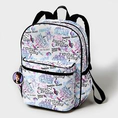 Justin Bieber Metallic Backpack - Claire's $28