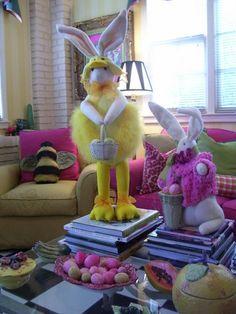 Chick and Bunny All Dressed Up www.markballard.com