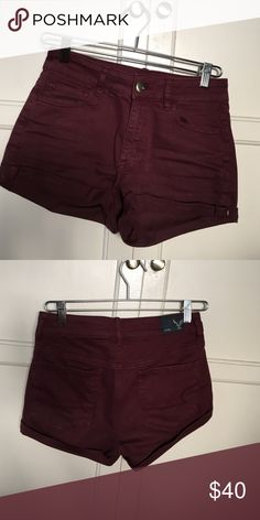American Eagle Outfitters High Rise Shortie American Eagle Outfitters High Rise Shortie American Eagle Outfitters Shorts